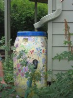 Painter Rain Barrel