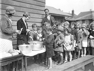 children-soup-line | Town & Country Gardening