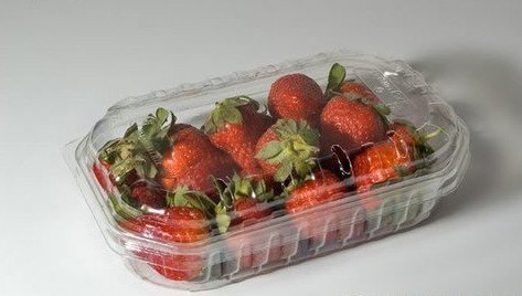 strawberry-under-plastic