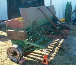 1946 - JD model FBB wheat drill