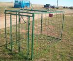 Pick-up bed livestock pen