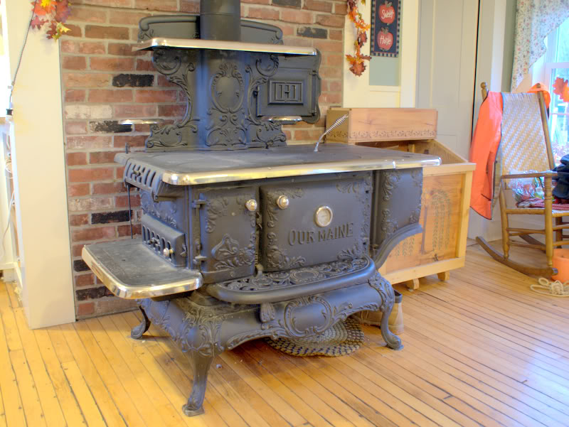 Wood Burning Kitchen Stove Town Country Gardening