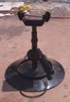handmade hoof trimming stand