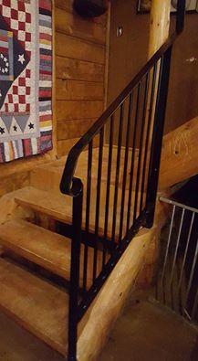 handmade banister railing