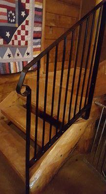 handmade banister